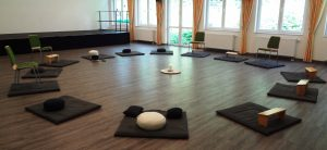 Meditationsraum der Meditationsgruppe in Essen-Kupferdreh