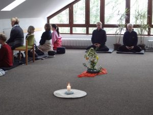 Foto Meditationsgruppe im Haus am Turm
