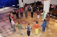 Reigentanz beim Meditativen Gottesdienst