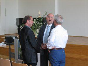 Feier 30 Jahre Arbeitskreis Meditation in der Evangelischen Kirche Rheinland mit Präses Schneider, Prof. M. v. Brück u. M.Rompf, Wuppertal 2007