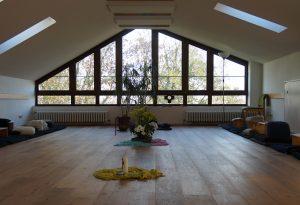 Foto Meditationsraum im Haus am Turm